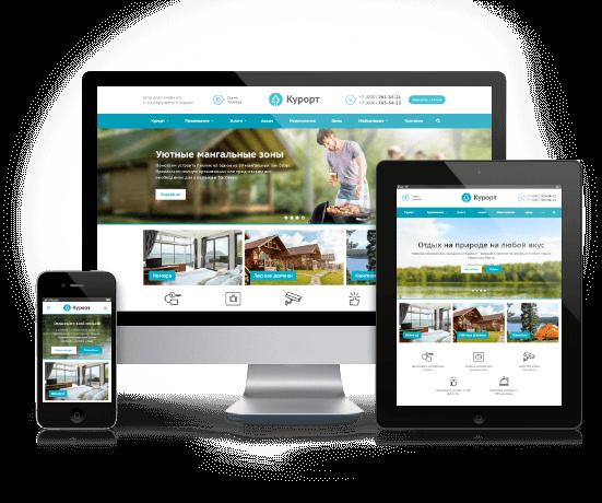 Корпоративные сайты с индивидуальным дизайном