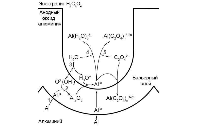 Необходимые условия для упорядочения пористой структуры анодного оксида алюминия