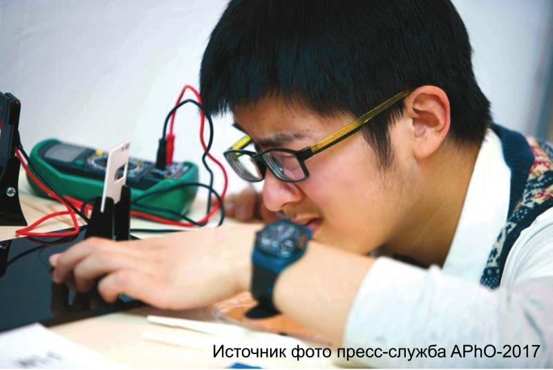 Азиатская олимпиада школьников по физике APhO-2017