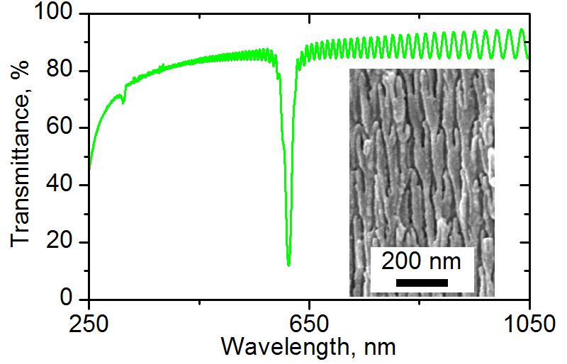 Анодирование алюминия в селеновой кислоте для получения фотонных кристаллов